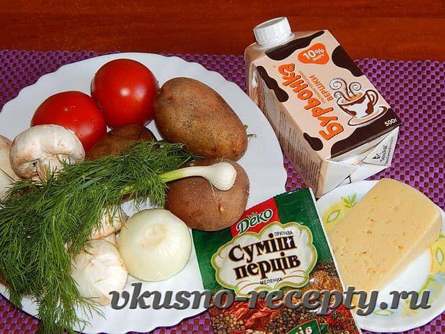 Гратен из картофеля — рецепт приготовления в духовке